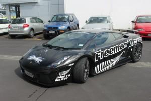 Speedy Signs Albany Auckland lamborghini freemanx.com car wrap graphics final result