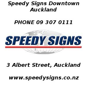 Award Winning Signs by Speedy Signs Downtown