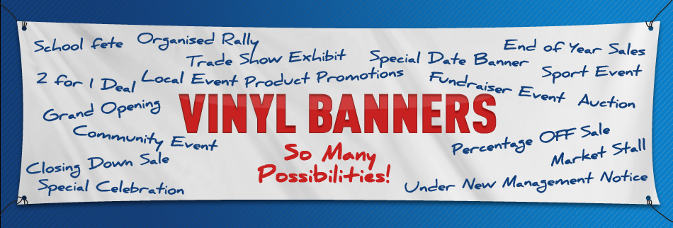 Vinyl Banner Signs To Promote Your Business Event - Vinyl banners and signs