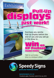 Don't Miss Out On Our Pull Up Banners Promotion