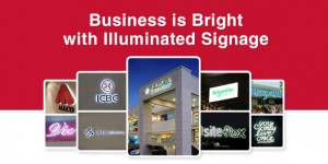 4 Reasons Why Illuminated Signage is right for your business