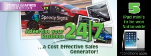 Advertise Your Business 24/7 With Our Vehicle Graphics Promotion!