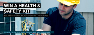 Win a Health and Safety Kit – 3 to be won!