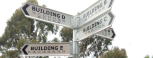 Directional Signage & The User Experience